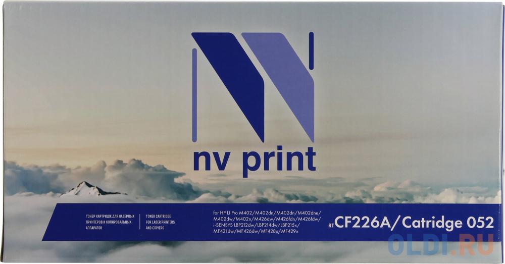 Фото - Картридж NV-Print NV-Print NV-CF226A/NV-052 3100стр Черный nv