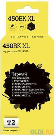 Картридж T2 IC-CPGI-450BK XL для Canon PIXMA iP7240 PIXMA MG5440 PIXMA MG6340 PIXMA MX924 500стр Черный картридж t2 pgi 35 черный [ic cpgi 35]