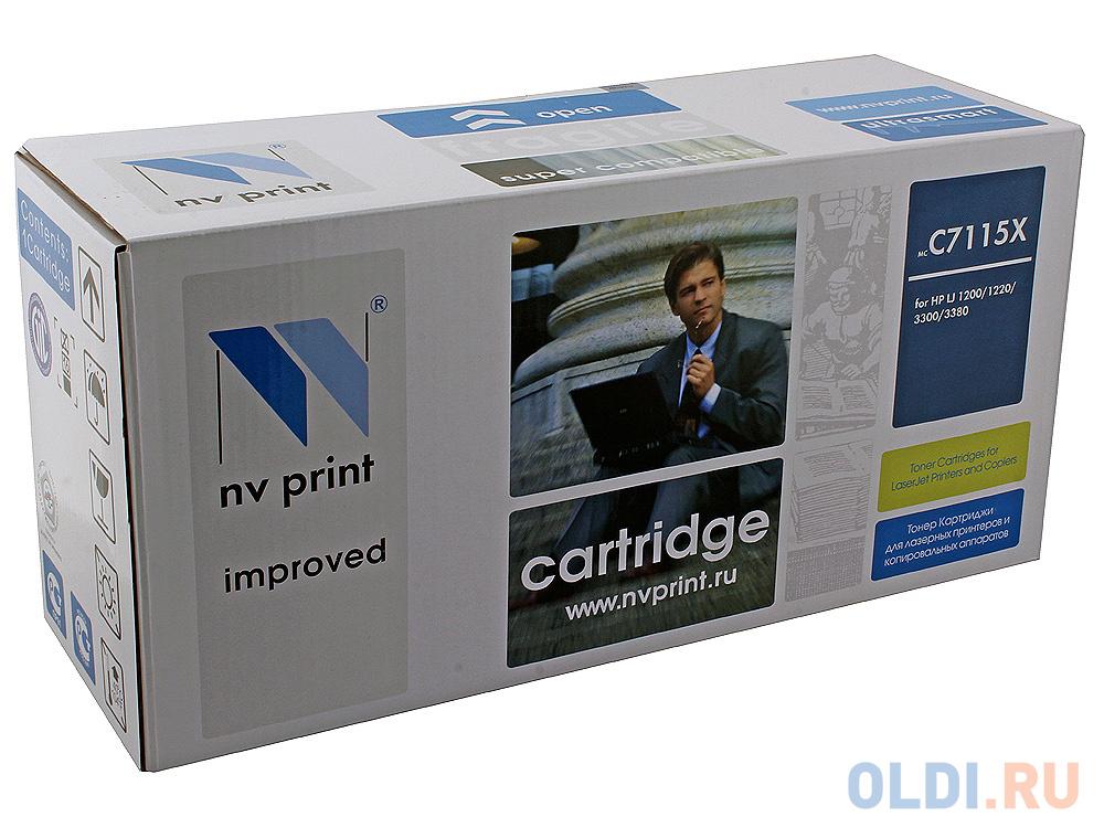 Картридж NV-Print C7115X для HP LJ 1200/1220 картридж nv print c4192a для hp