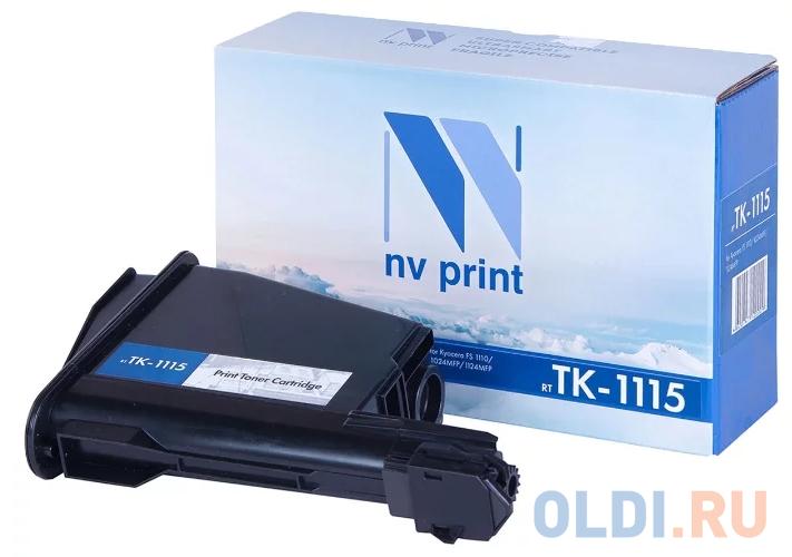 Картридж NV-Print TK-1115 2100стр Черный картридж nv print tnp 27k 2100стр черный