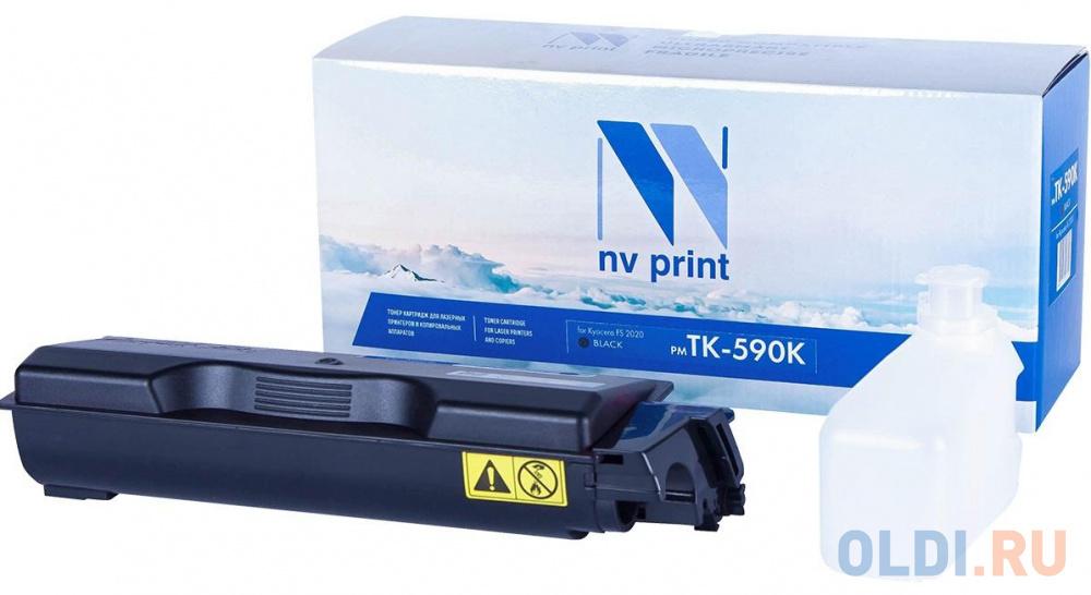 Картридж NV-Print TK-590K 7000стр Черный