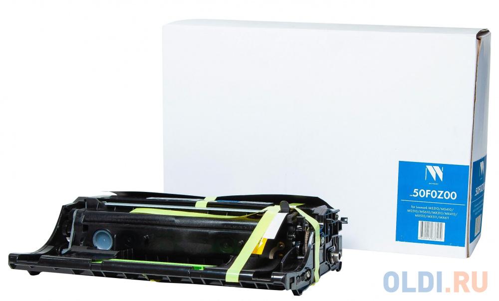 Драм-картридж NVP совместимый NV-50F0Z00 для Lexmark MS310/MS410/MS510/MS610/MX310/MX410/MX510/MX511/MX611 (60000K) блок формирования изображения lexmark для ms310 ms410 ms510 ms610 mx310 mx410 mx510 mx511 mx611 lrp 60k