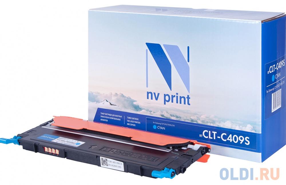 Фото - Картридж NV-Print CLT-C409S для Samsung CLP-310 CLP-310N CLP-315 1000стр Голубой clp 545 pe