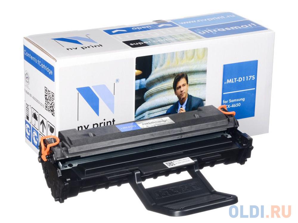 Фото - Картридж NV-Print MLT-D117S 2500стр Черный картридж nv print cs tk160 2500стр черный