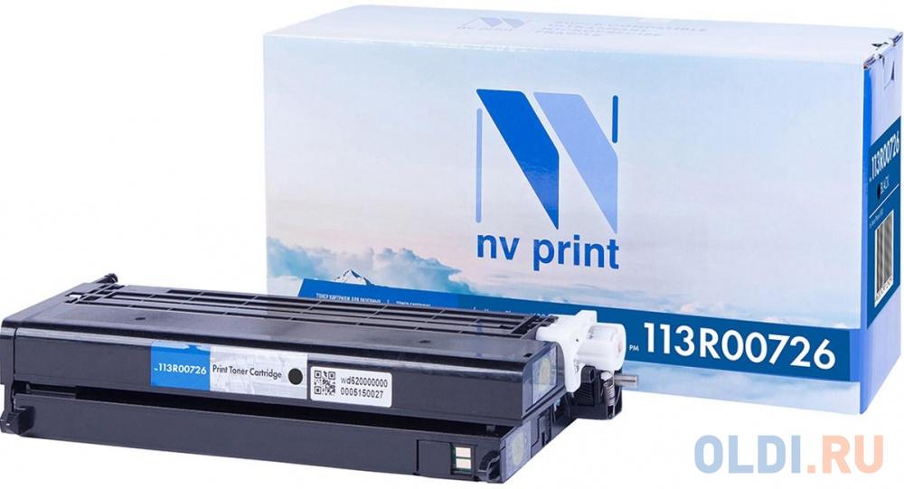 Картридж NV-Print 113R00726 6000стр Черный картридж nv print ce402a 6000стр желтый