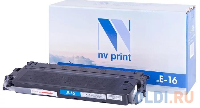 Картридж NV-Print NV-E16 для Canon FC-2xx FC-3xx FC-530 FC-108 FC-208 PC-7xx PC-8xx 2000стр Черный