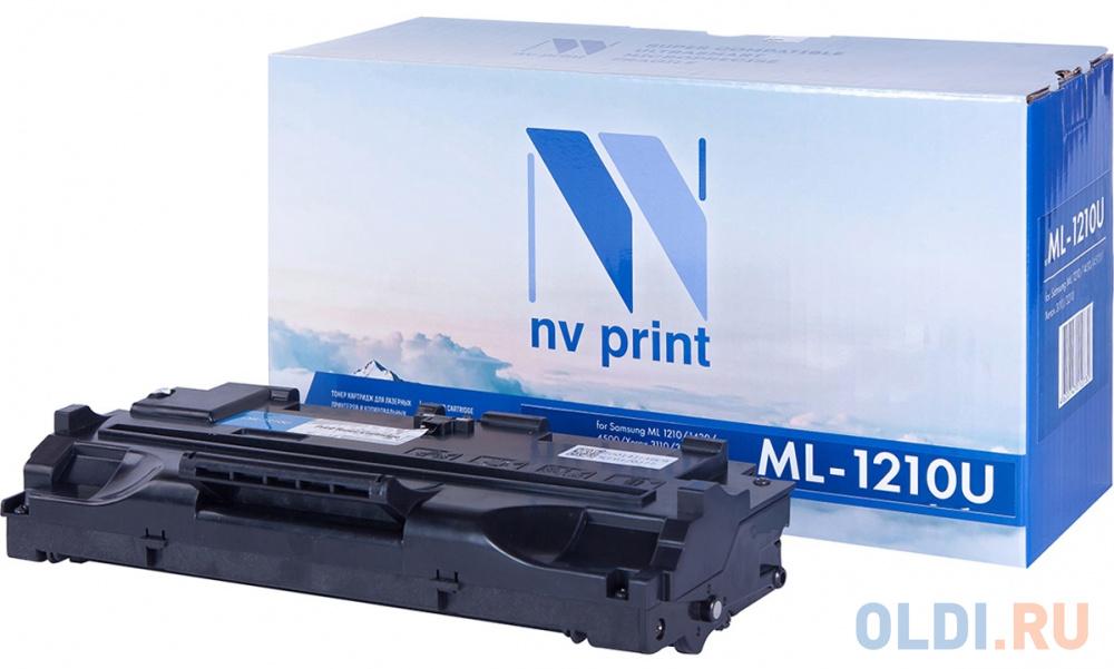 Фото - Картридж NV-Print LS-1210 2500стр Черный картридж nv print cs tk160 2500стр черный