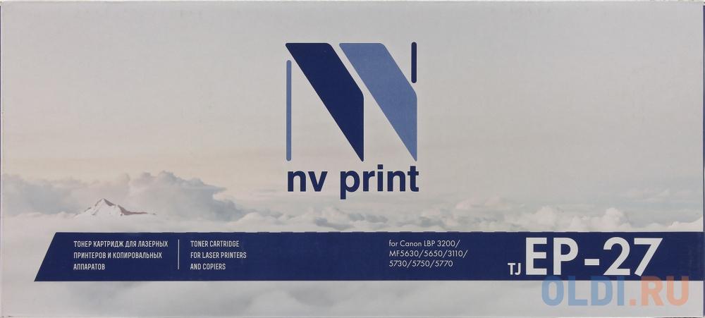 Картридж NV-Print EP-27 EP-27 EP-27 EP-27 2500стр Черный