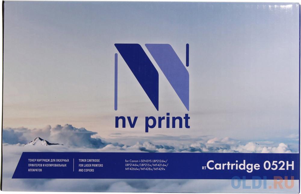 Картридж NV-Print NV-052H 9200стр Черный картридж nv print сartridge 719h 6400стр черный
