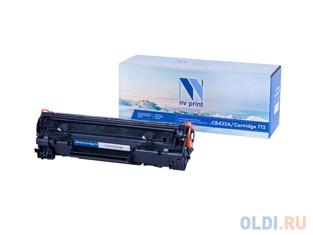 Картридж NV-Print CB435A CB435A CB435A CB435A CB435A 1500стр Черный CL0066