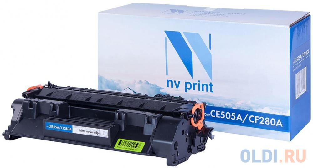 Картридж NV-Print CE505A CE505A CE505A CE505A CE505A CE505A CE505A 2300стр Черный NV-CE505A