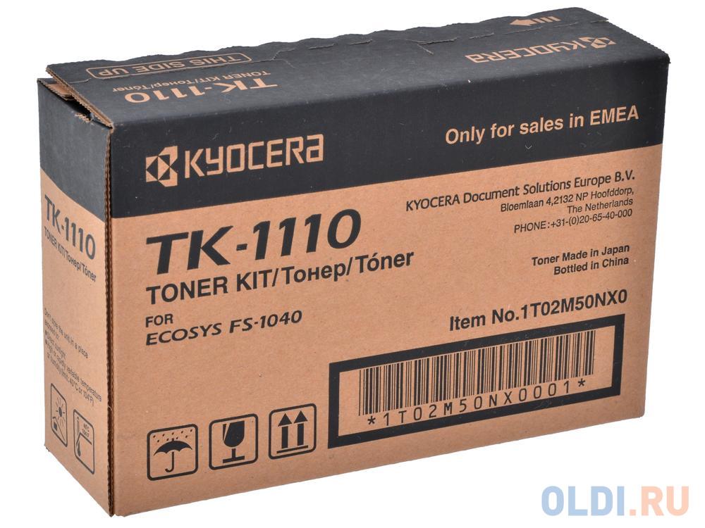 Картридж Kyocera Mita TK-1110 TK-1110 TK-1110 TK-1110 TK-1110 2500стр Черный