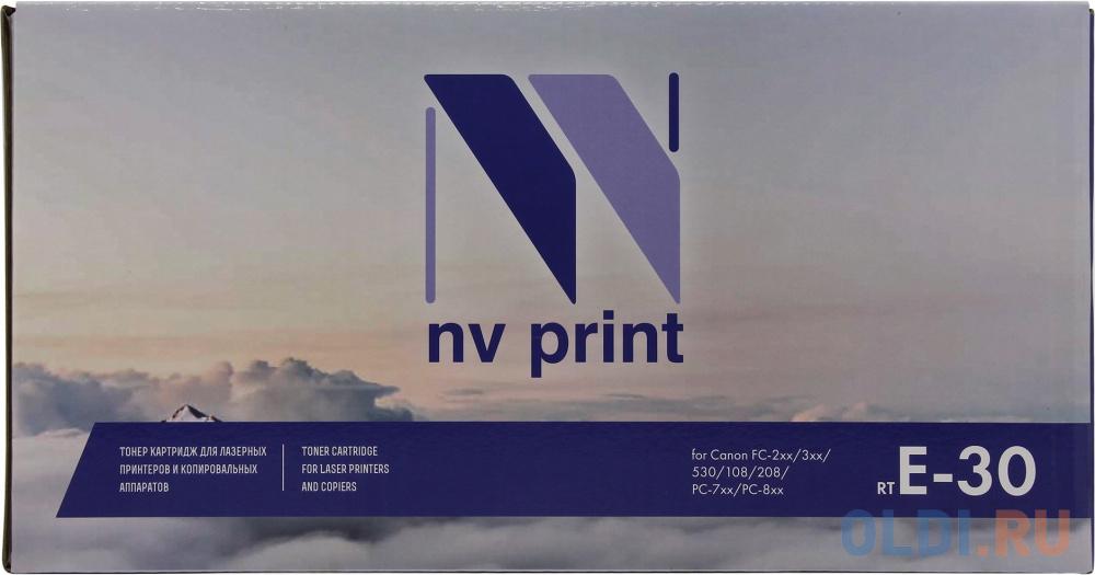 Картридж NV-Print Canon E-30 4000стр Черный