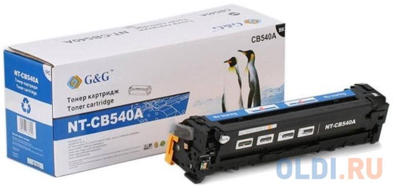 Картридж лазерный G&G NT-CB540A черный (2200стр.) для HP CLJ CP1215/1515/CM1312 картридж hp cb540ad для hp clj cp1215 1515 1518 cm1312 черный 2 200 страниц двойная упаковка