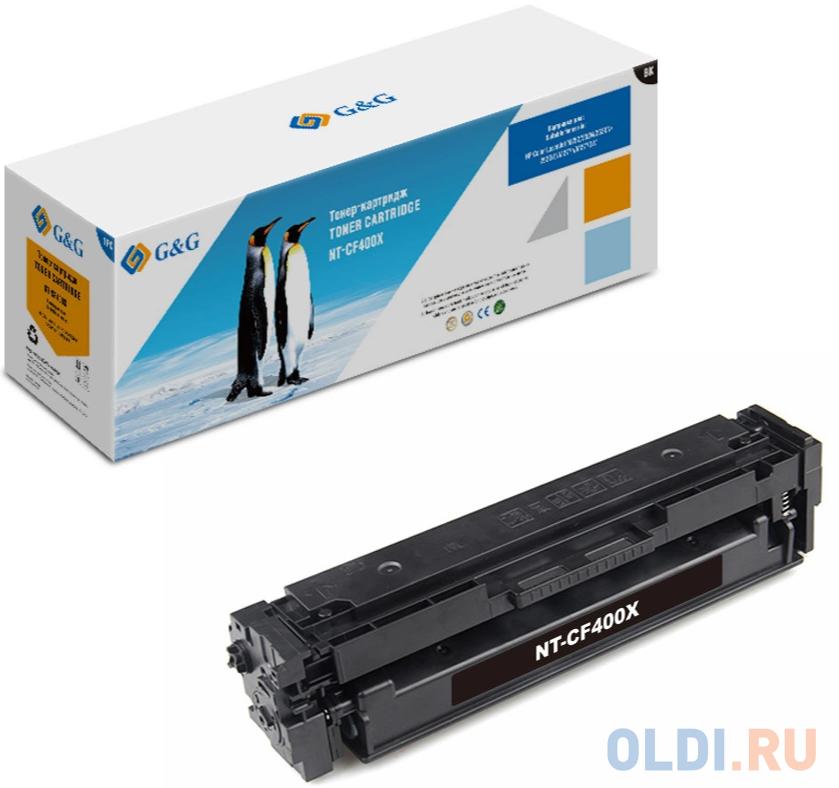 Картридж лазерный GG NT-CF400X черный (2800стр.) для HP CLJ M252/252N/252DN/252DW/M277n/M277DW.