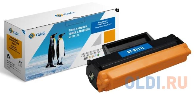 Картридж лазерный GG NT-D111L черный (1800стр.) для Samsung Samsung Xpress SL-M2020/2022/2070.