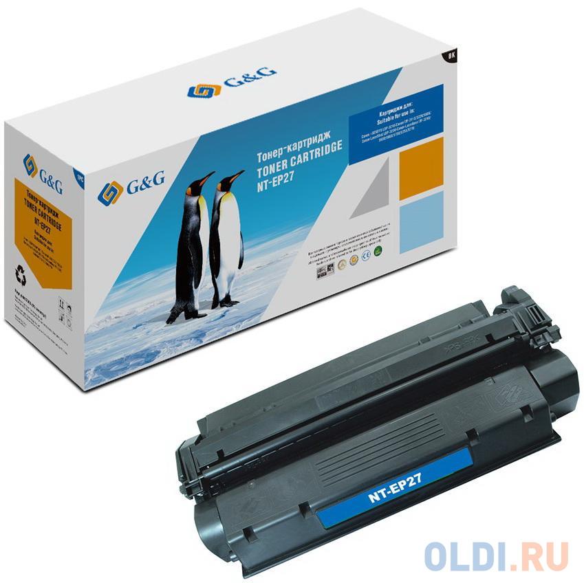 Картридж лазерный GG NT-EP27 черный (2500стр.) для Canon i-SENSYS LBP-3210;MF-3110/3220/5600;LaserShot LBP-3200.