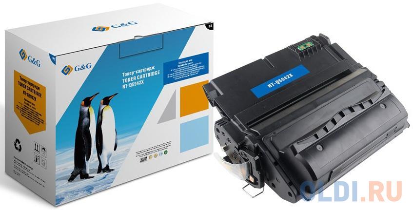 Картридж лазерный GG NT-Q5942X черный (20000стр.) для HP LJ 4250/4350/4200/4300/4345 MFP.