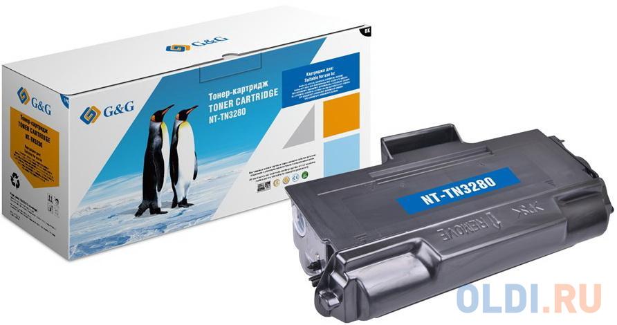 Картридж G&G NT-TN3280 12000стр Черный