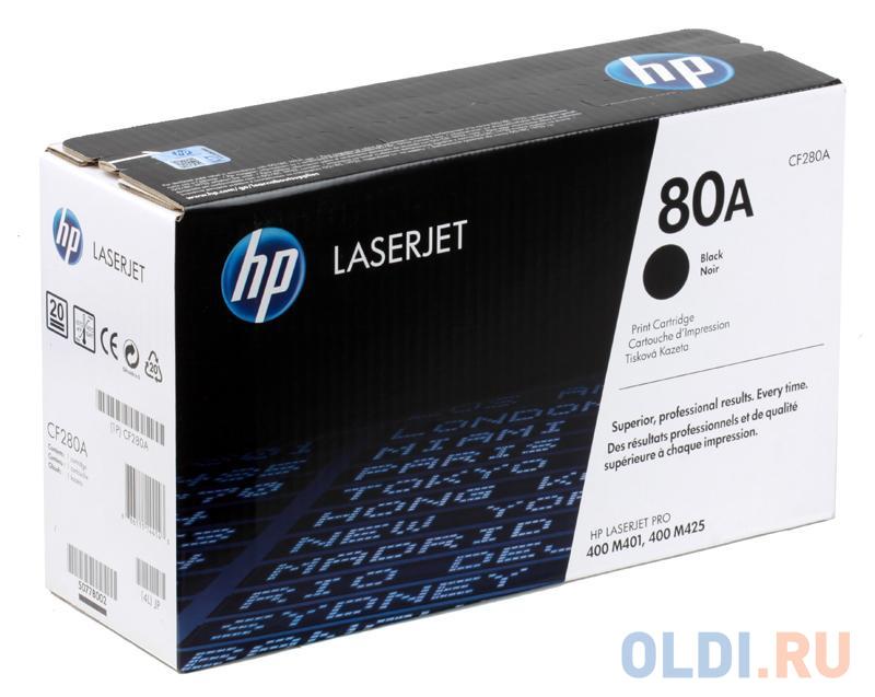 Картридж HP CF280A CF280A CF280A CF280A 2700стр Черный