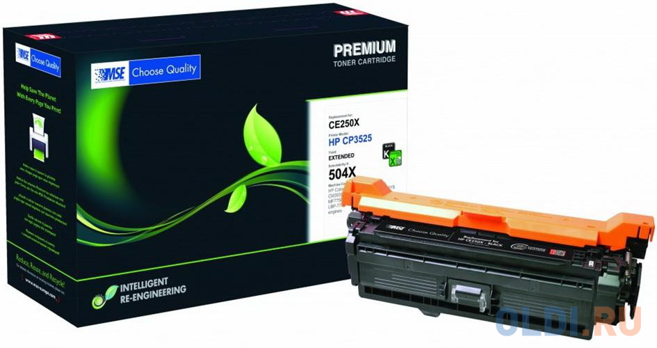 Картридж лазерный MSE CE250X 3525K-XL-MSE черный (16000стр.) для HP CLJ CP3525/CM3530 картридж mse ce401a голубой [m551c xl mse]