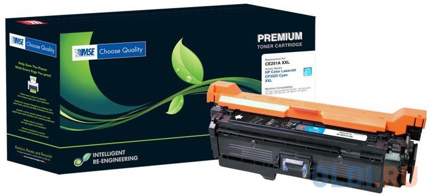 Картридж лазерный MSE CE251A 3525C-XL-MSE голубой (11000стр.) для HP CLJ CP3525/CM3530 картридж mse ce401a голубой [m551c xl mse]