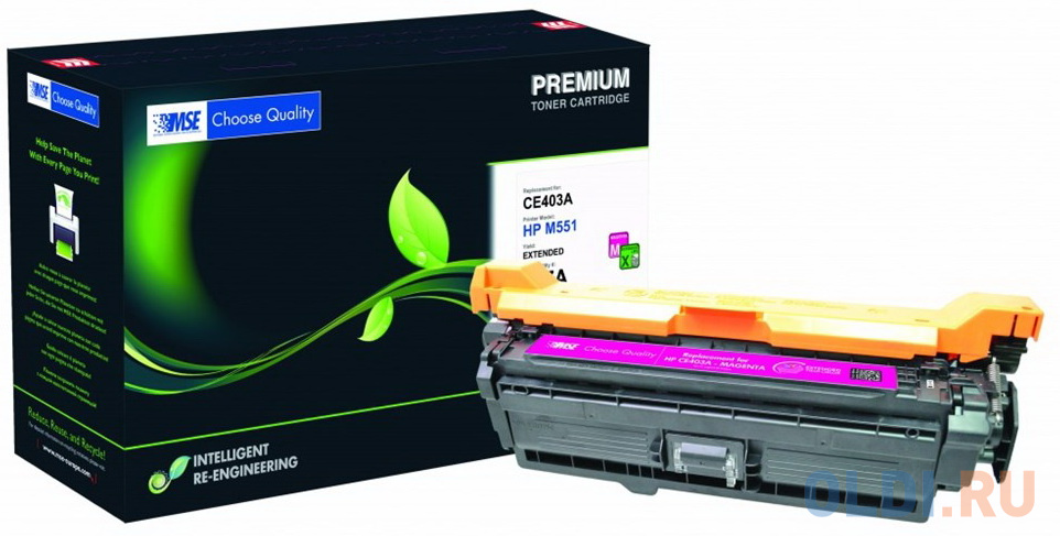 Картридж лазерный MSE CE403A M551M-XL-MSE пурпурный (11000стр.) для HP LJ M551 картридж mse ce401a голубой [m551c xl mse]