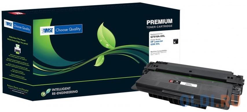 Фото - Картридж лазерный MSE Q7516A 16A-XL-MSE черный (23000стр.) для HP LJ 5200/5200N/5200L/5200TN/5200DTN картридж лазерный mse q5949x 49x xl mse черный 6000стр для hp lj 1320 3390 3392
