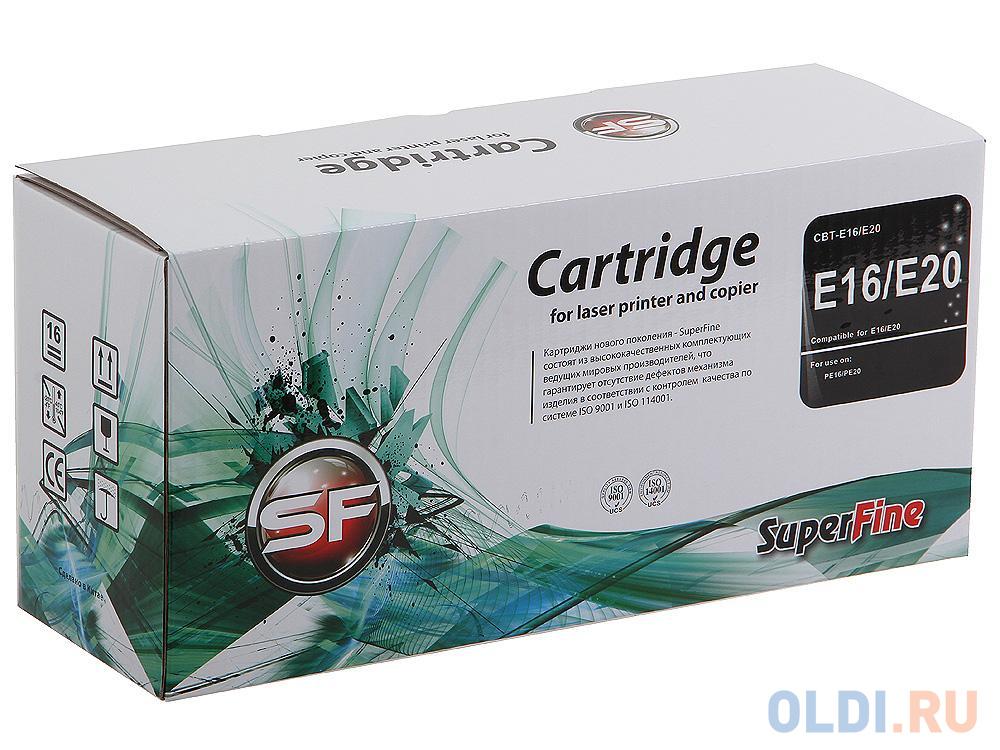 Картридж SuperFine E-16 для Canon FC-210 220 230 750 2000стр E16/E20