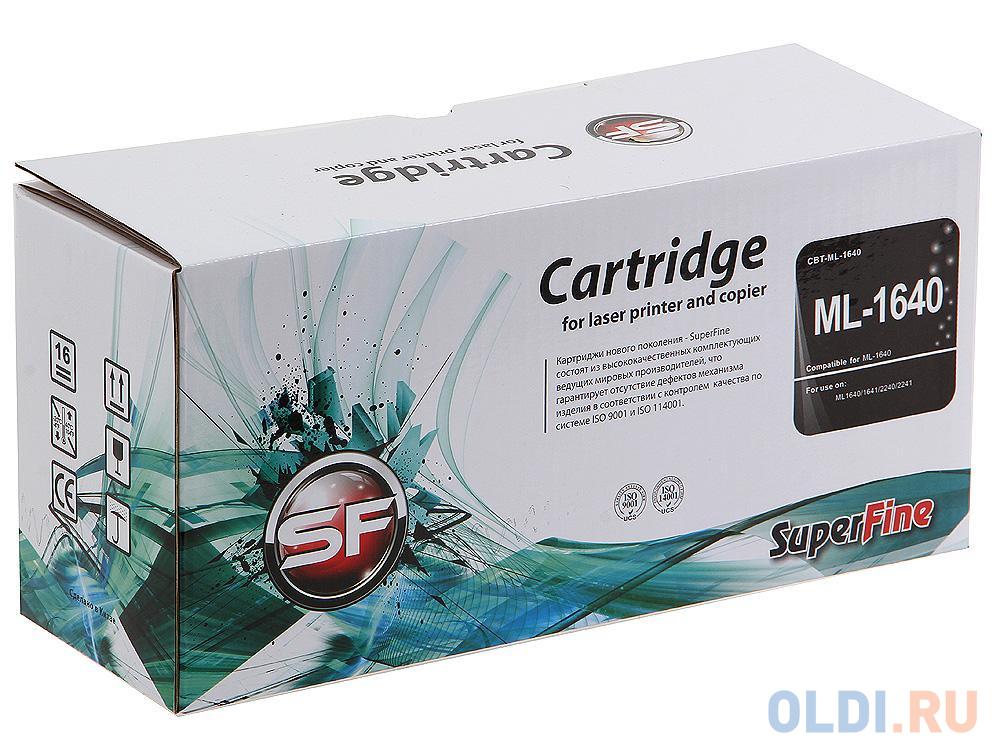 Картридж SuperFine MLT-D108S MLT-D108S MLT-D108S MLT-D108S 1500стр Черный