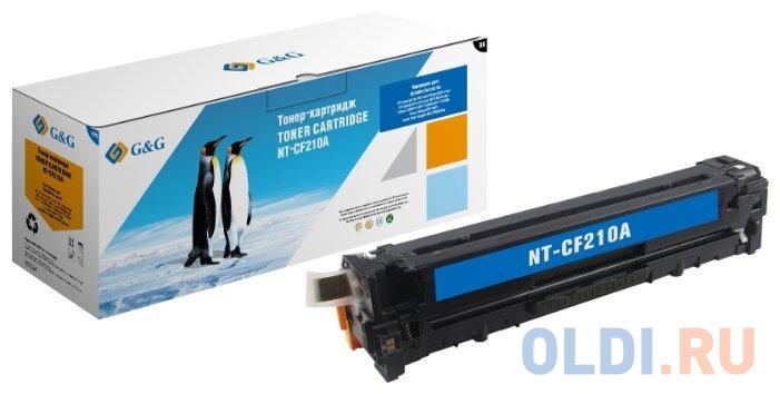 Картридж G&G MX-36GTYA для НР LaserJet Pro200 Color M251n/M251nw/M276n/M276nw 1800стр Черный