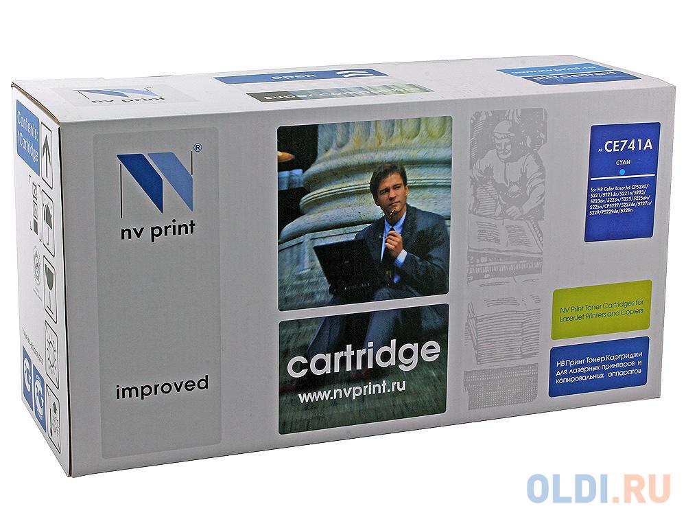 Картридж NV-Print CE741A CE741A CE741A 7000стр Голубой