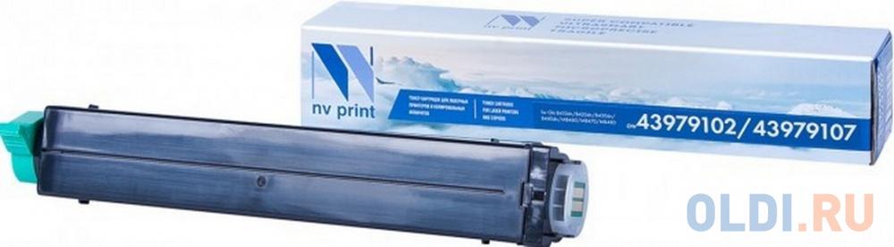 Картридж NV-Print NV-43979102/43979107 3500стр Черный