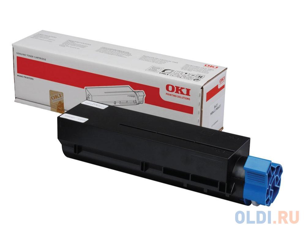 Тонер-картридж OKI 44917608 для B431/MB491 черный 12000стр