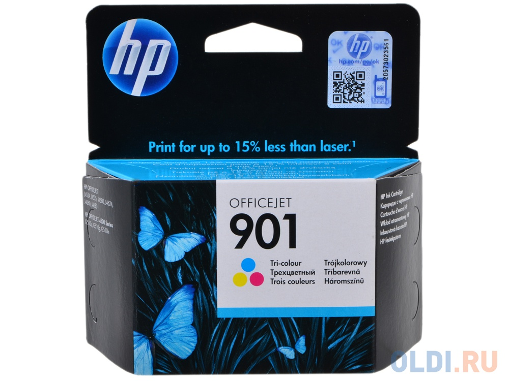 Картридж HP CC656AE (№ 901) Цветной фото