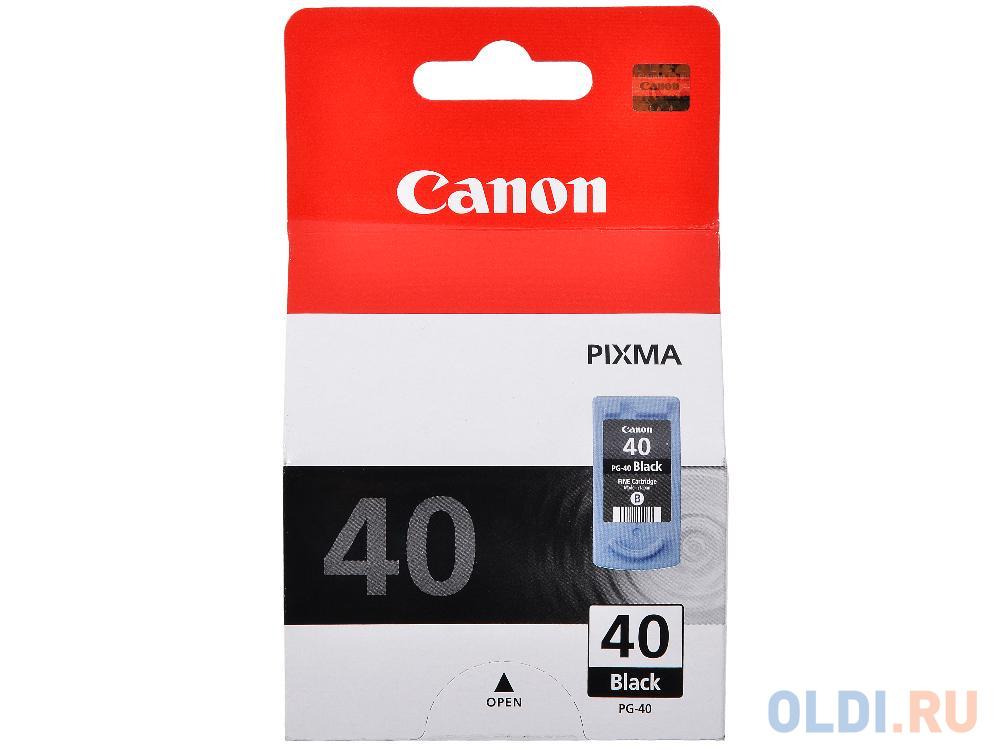 Картридж Canon PG-40 PG-40 PG-40 PG-40 329стр Черный