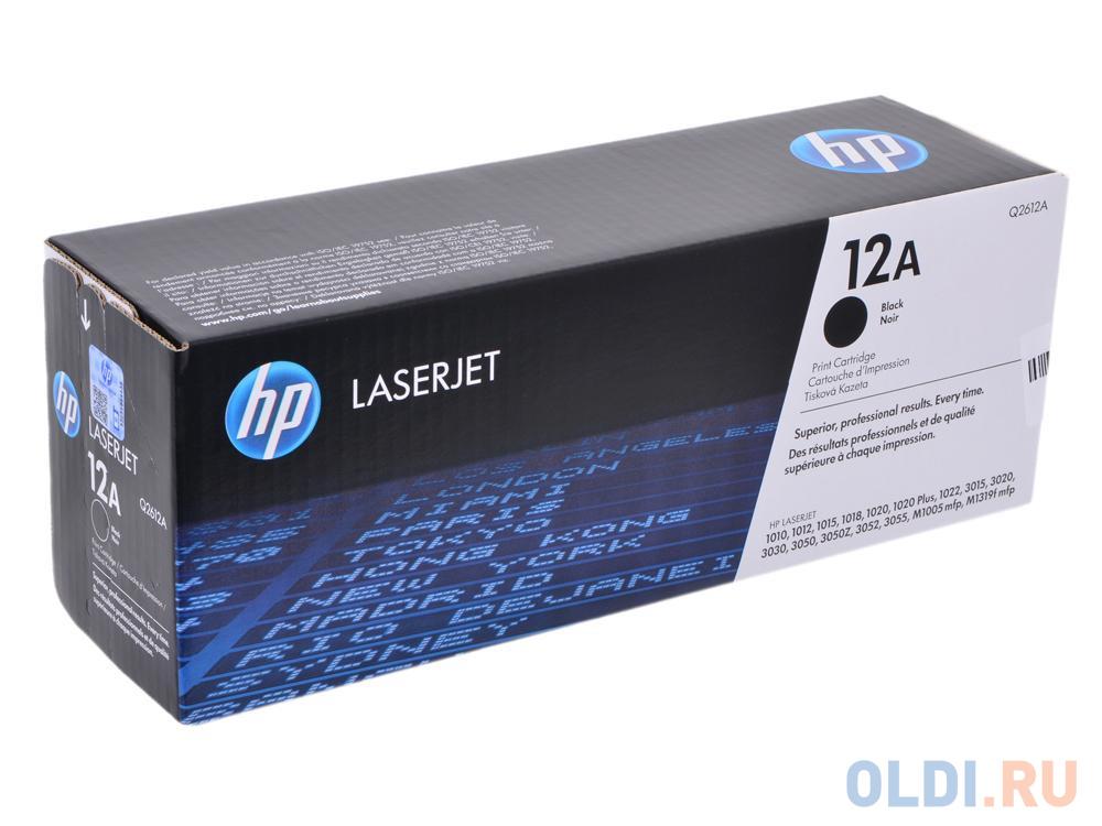Картридж HP Q2612A Q2612A Q2612A Q2612A Q2612A Q2612A Q2612A 2000стр Черный