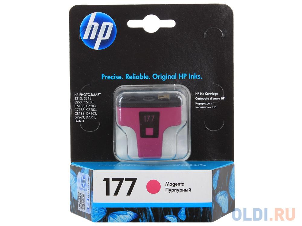 Картридж HP C8772HE (№177) Magenta фото