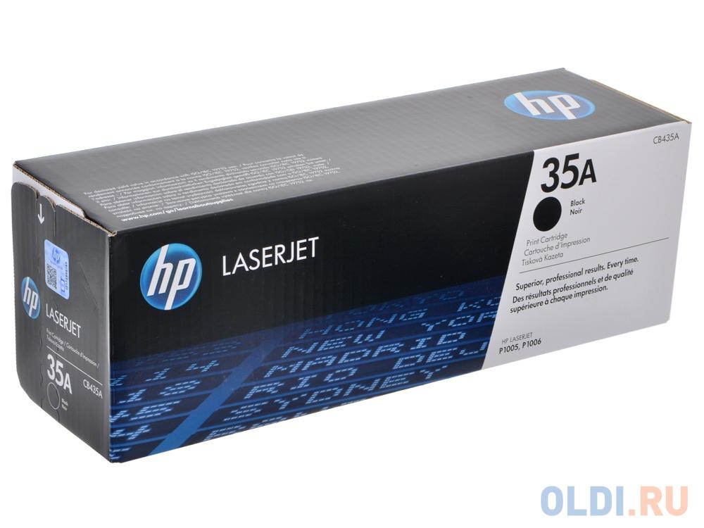 Картридж HP CB435A CB435A CB435A CB435A CB435A 1500стр Черный