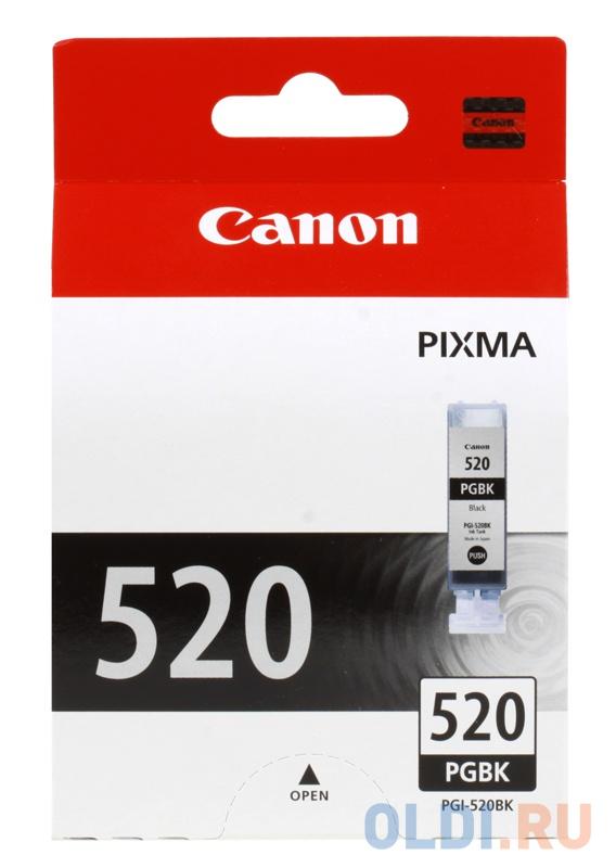 Картридж Canon PGI-520BK Twin картридж canon pgi 520bk черный