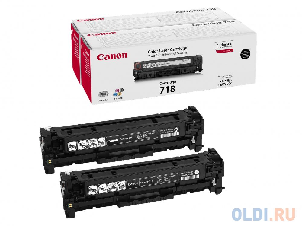 Картридж Canon 718 718 718 718 718 3400стр Черный