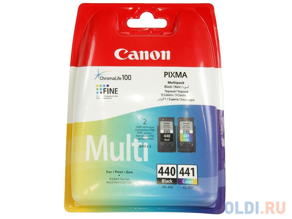 Картридж Canon PG-440/CL-441 для PIXMA MG2140, MG3140.