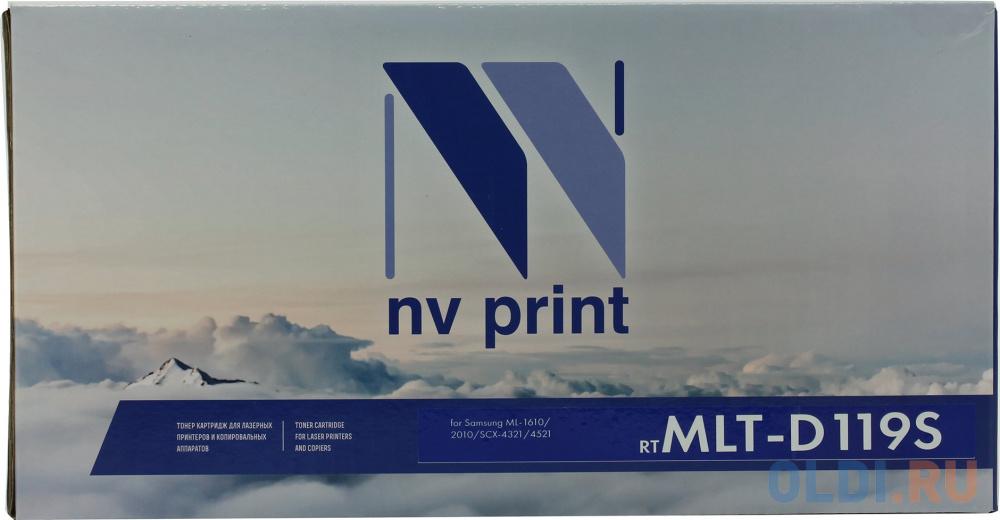 Картридж NV-Print MLT-D119S MLT-D119S 2000стр Черный