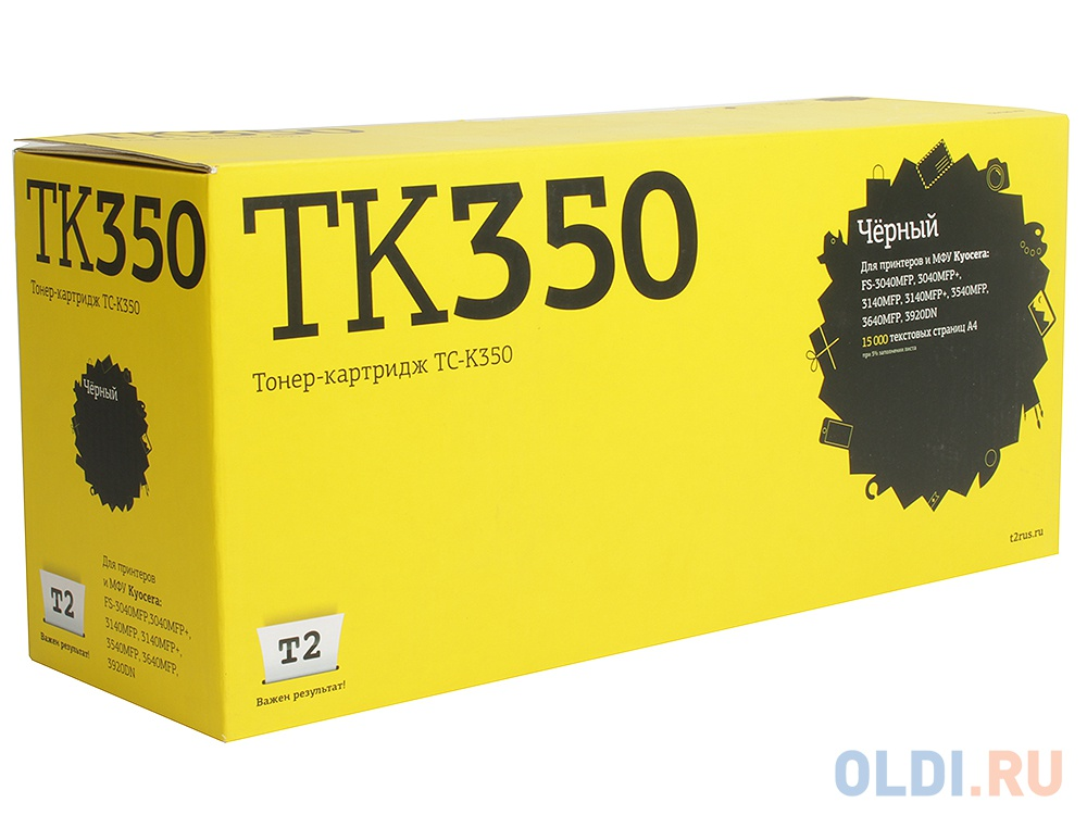 Картридж T2 TC-K350 для Kyocera FS-3040MFP 3140MFP 3540MFP 3640MFP 3920DN черный с чипом 15000стр