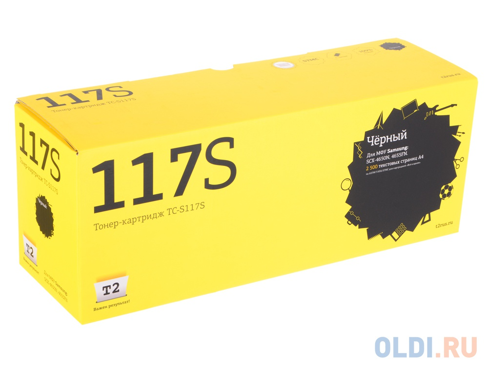 Картридж T2 TC-S117S для Samsung SCX-4650N 4655FN черный 2500стр