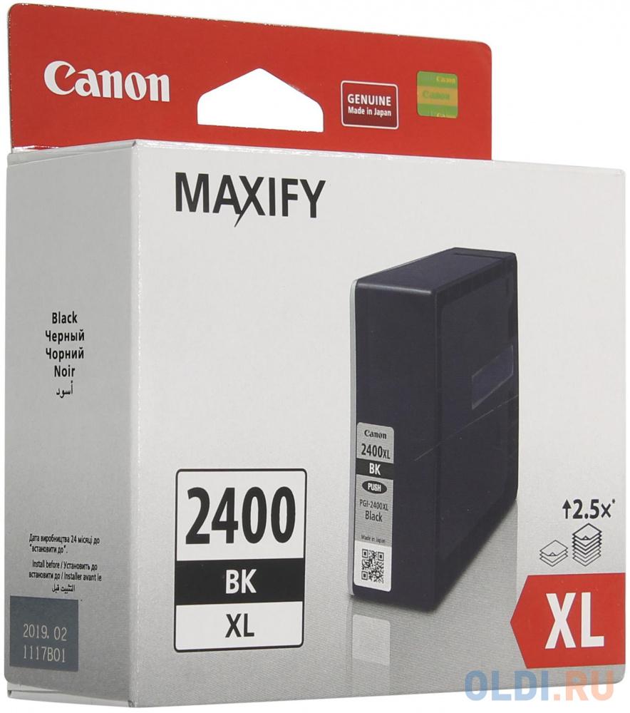 Картридж Canon PGI-2400XL PGI-2400XL PGI-2400XL PGI-2400XL 2500стр Черный