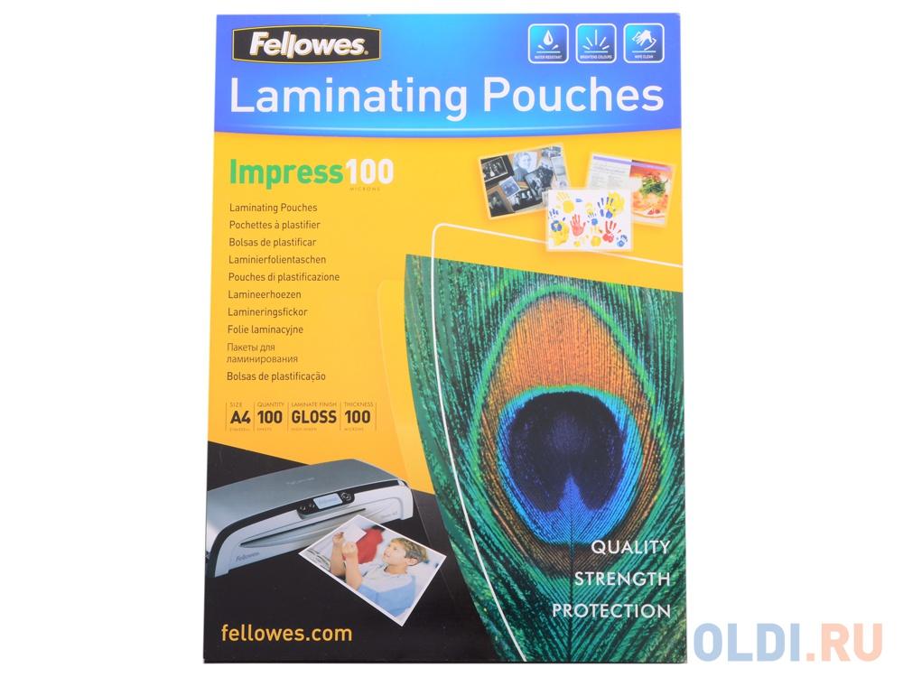 Плёнка для ламинирования Fellowes A4 Fellowes, фото