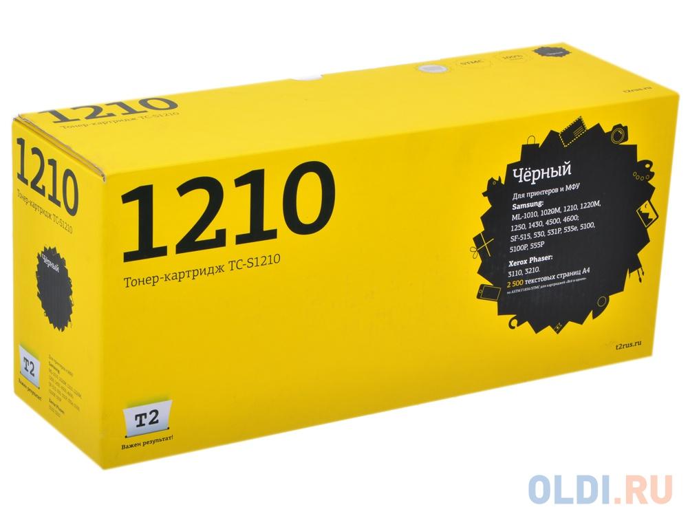 Картридж T2 TC-S1210 для Samsung ML-1010 1020M 1210 1220M 1250 1430 4500 4600 SF-515 530 531P 535e 5100 5100P 555P Xerox Phaser 3110 3210