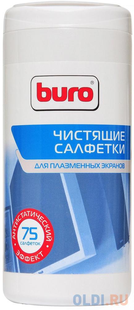 Фото - Влажные салфетки BURO BU-TPSM 75 шт влажные салфетки buro bu tmix 65 шт