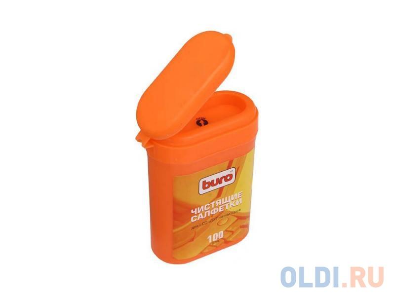 Фото - Влажные салфетки BURO BU-tft 100 шт влажные салфетки buro bu tmix 65 шт